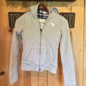 A&F Flannel Lined Hoodie
